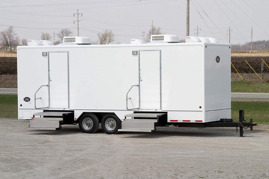 Exterior 24' JAG Door Side - Portable Sanitation