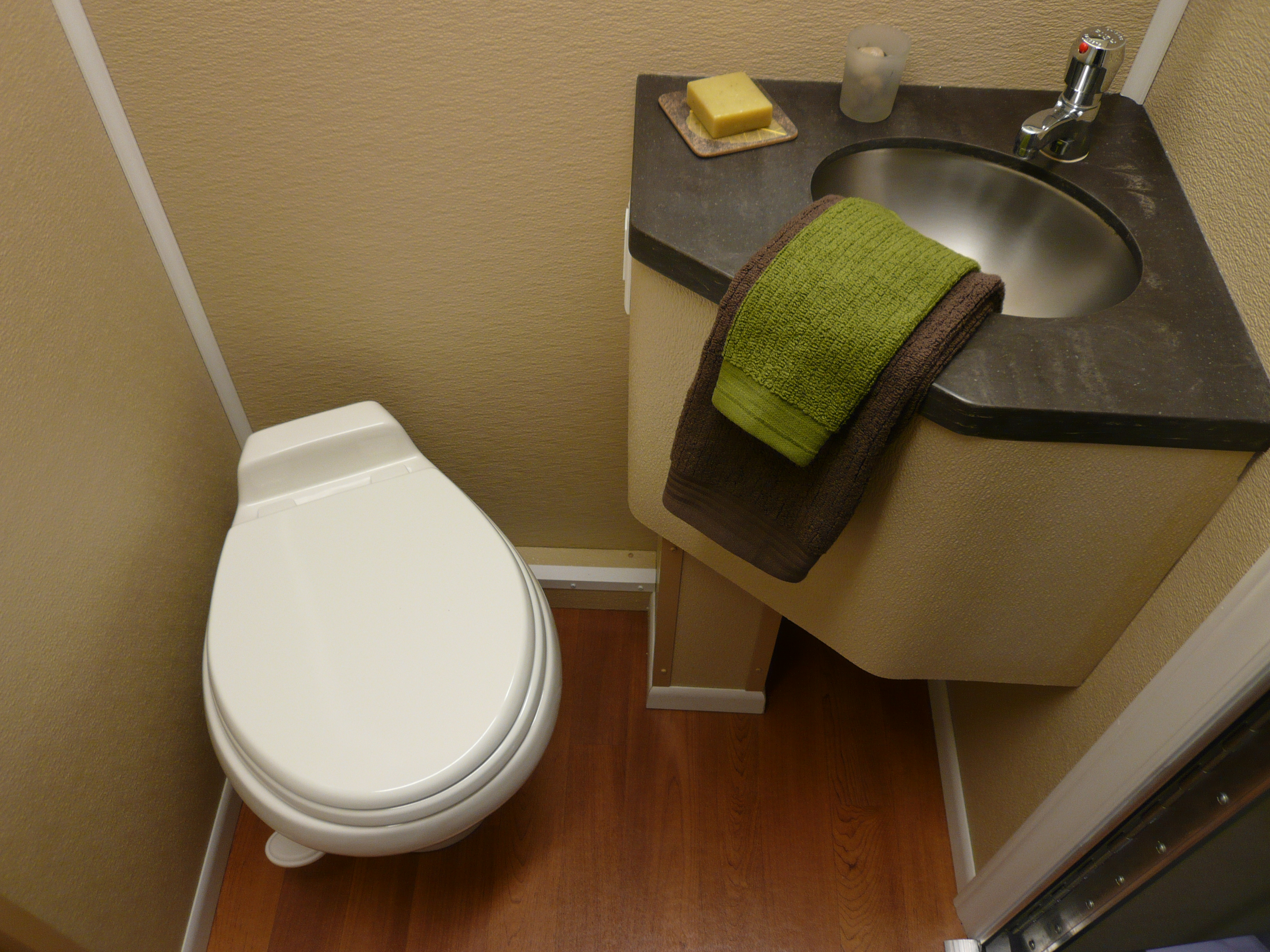Portable Shower Toilet Combo : New england restroomseducation on the portable toilet