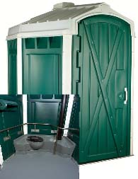 ADA Compliant Portable Restroom - Porta Potty Rental