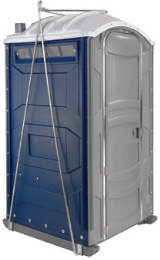 Construction High-rise Porta Potty Rental