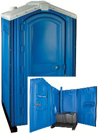 Standard Single Porta Potty Rental